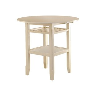 Gennessee Counter Height Drop Leaf Dining Table