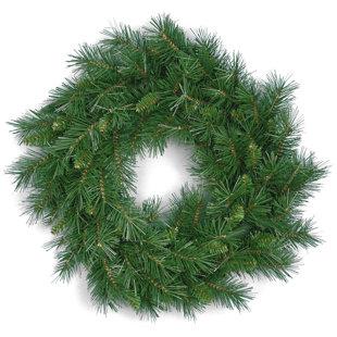 Winchester 60.96cm PVC Pine Wreath By The Seasonal Aisle
