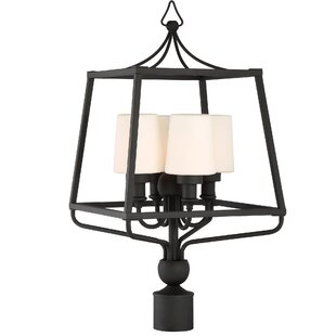 Best Reviews Barnaby 4-Light 26 Outdoor Post Light By Darby Home Co