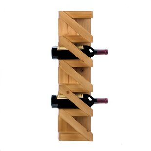 Dunkley 5 Bottle Wall Mounted Wine Rack by Fleur De Lis Living