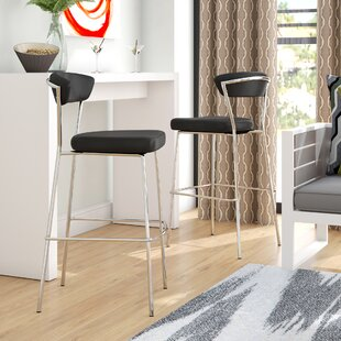 Viviana 29.5 Bar Stool (Set of 2) Wade Logan