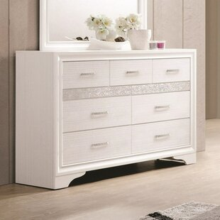 Kenzie 7 Drawers Double Dresser