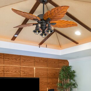 Buy luxury 52 Franklinton 5 Blade LED Ceiling Fan By Bay Isle Home