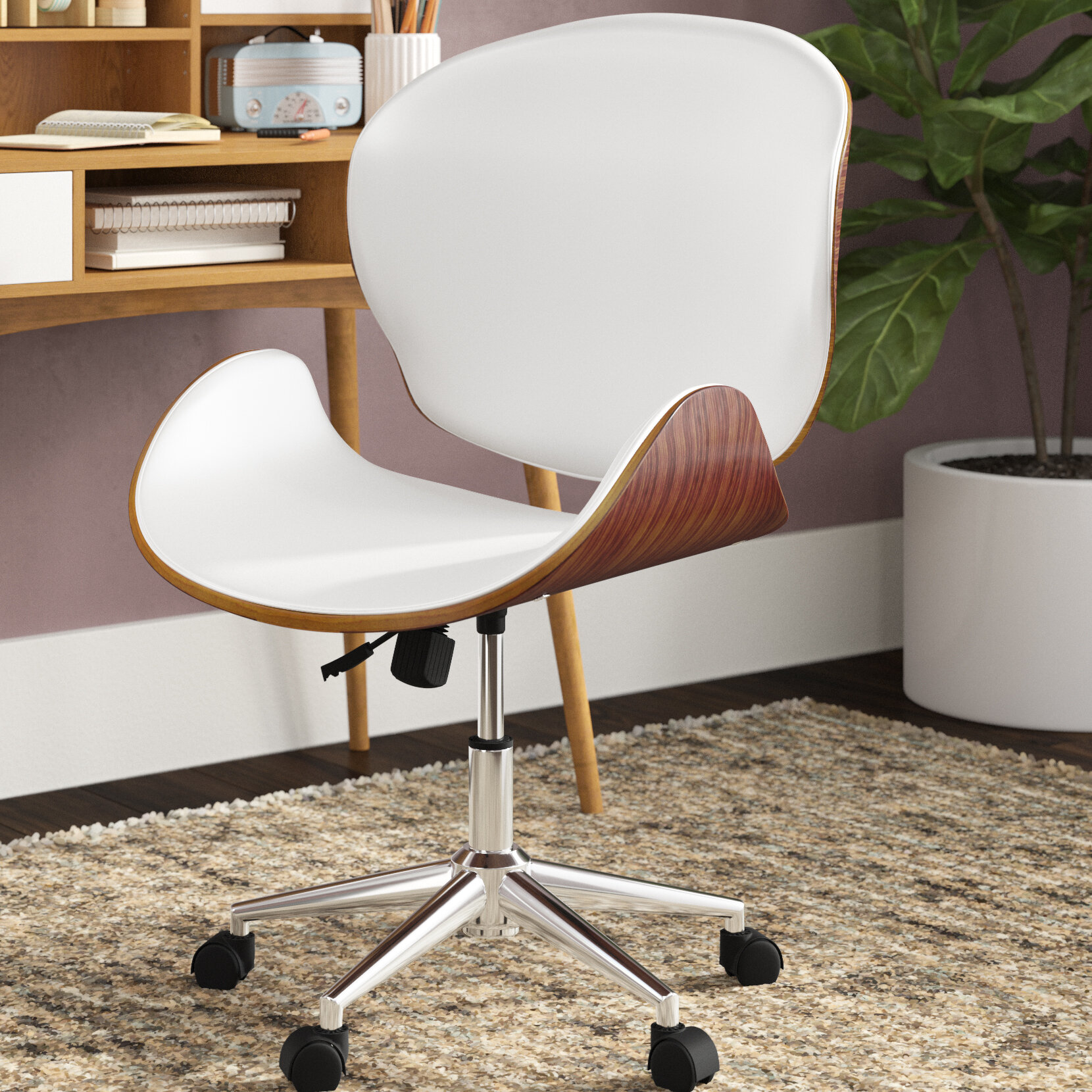 Mid-Century Modern Office Chairs You\'ll Love in 2019 | Wayfair