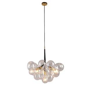 Brayden Studio Elkins 6-Light Cluster Pendant