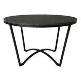 Carmisha Cross Legs Coffee Table by Latitude Run®