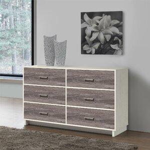 chicopee 6 drawer dresser