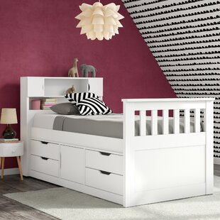 Angelica Twin Mate's & Captain's Bed with Drawers by Mack & Milo