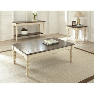 August Grove Anita 3 Piece Coffee Table Set