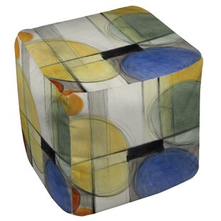 Cube Ottoman by East Urban Home