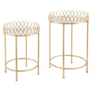 Genna 2 Piece Tables by Everly Quinn