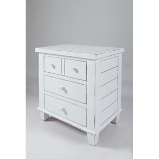 Calanna 3 Drawer Nightstand