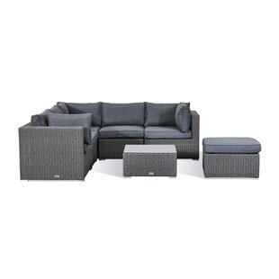 Arencibia 6 Seater Corner Sofa Set By Sol 72 Outdoor