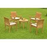 Ruger 5 Piece Teak Dining Set