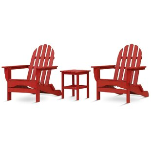 Paterson Adirondack 3 Piece Conversation Set