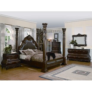 Alexandria Canopy Bed by Astoria Grand
