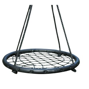 Freeport Park Miracle Web Spinner Swing Chair