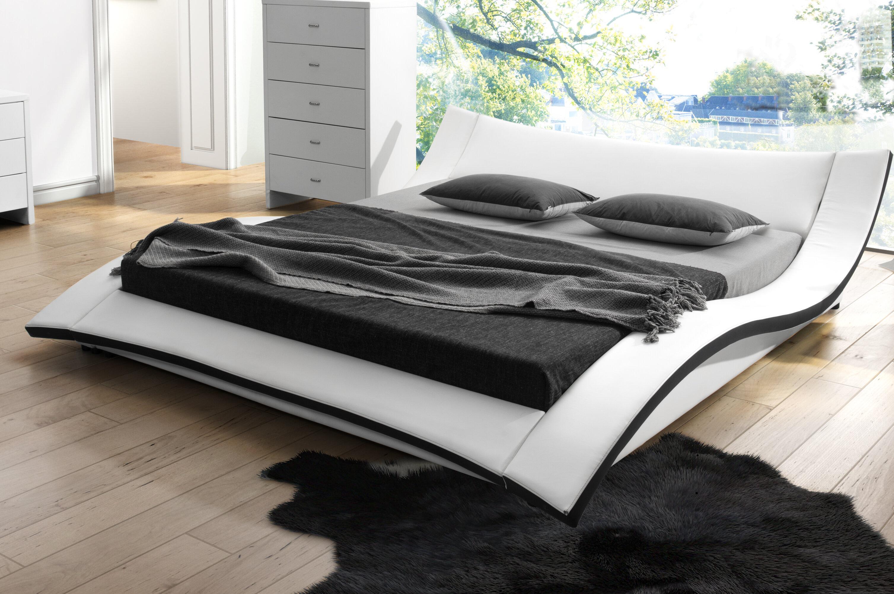 Picture of: Orren Ellis Harvard Upholstered Platform Bed Reviews