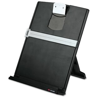 3M Fold-Flat Freestanding Desktop Copyholder, Plastic, 150 Sheet Capacity