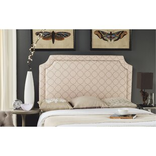 Stallings Upholstered Panel Headboard Pale Pink/Beige
