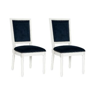 Battle Upholstered Dining Chair (Set of 2) by House of Hampton