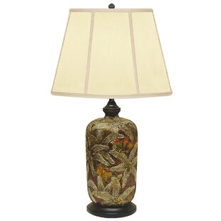 Field of Art Hand Painted Porcelain 29 Table Lamp