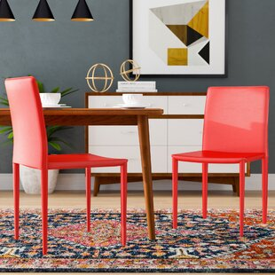 Bargain Lacey Upholstered Dining Chair (Set of 2) by Zipcode Design Reviews (2019) & Buyer's Guide