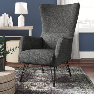 Price comparison Bibb Wingback Chair by Wrought Studio Reviews (2019) & Buyer's Guide