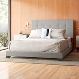 Nia Upholstered Panel Bed