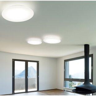 Molto Luce Rotula 1-Light LED Flush Mount