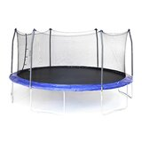 17' Oval Trampoline with Safety Enclosure