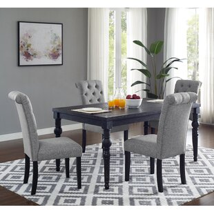 Evelin 5 Piece Dining Set