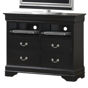 Guffey 4 Drawer Media Chest by..