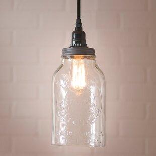 Juarez 1 Light Jar Pendant