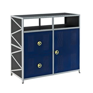Dune Buggy 2 Drawer 1 Door Accent Cabinet by Powell Furniture