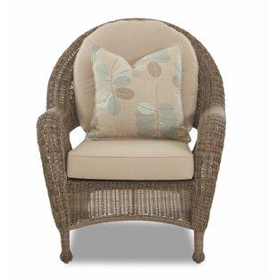 August Grove Brody Patio Chair with Cushion