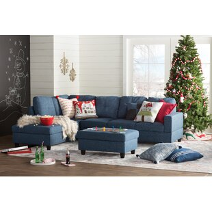 Awe Inspiring Barter Reversible Sectional With Ottoman By Ebern Designs 2 Alphanode Cool Chair Designs And Ideas Alphanodeonline
