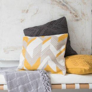 Haygarden Hand Woven Cotton Throw Pillow