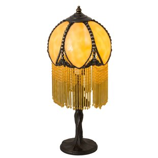 Alicia Fringed 15 Table Lamp