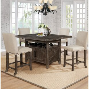 Shackleford 5 Piece Counter Height Dining Set Gracie Oaks