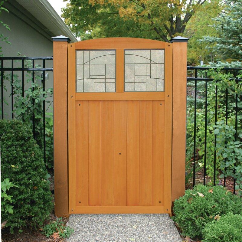 Yardistry 5.5 ft. H x 3.5 ft. W Baycrest Gate