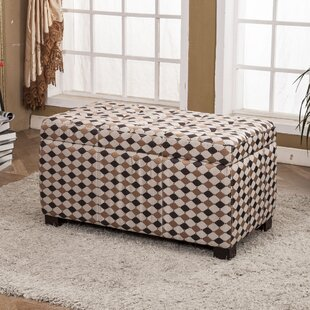 Classic Upholstered Storage Bench by Bellasario Collection