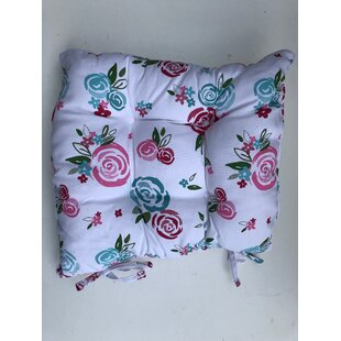 Candy Rose Flower Garden Dining Chair Cushion (Set Of 4) By Ebern Designs