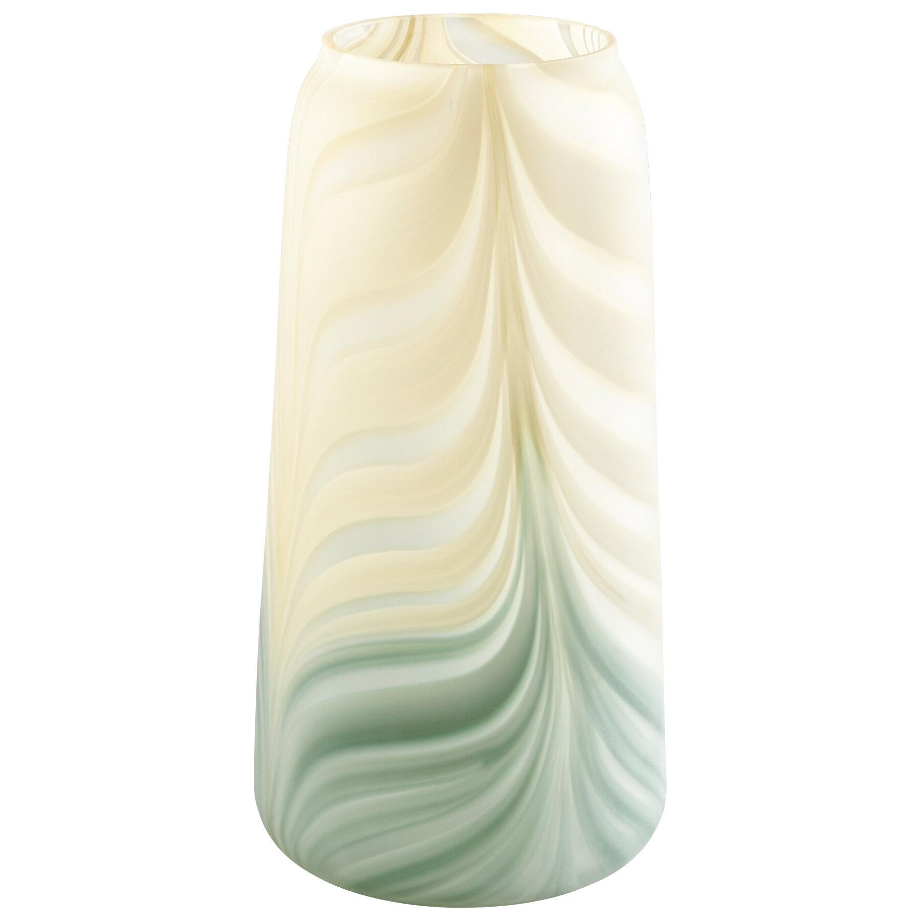 Cyan Design Yellow Green Glass Table Vase Reviews Perigold
