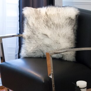 Sheba Faux Fur Throw Pillow