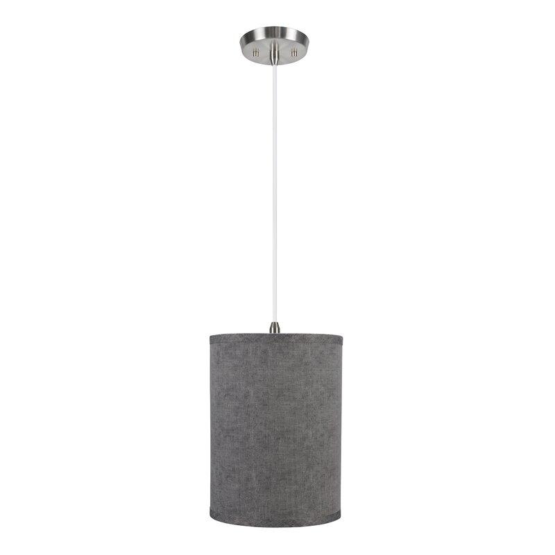 Winston Porter Annabel 1 Light Single Cylinder Pendant Wayfair