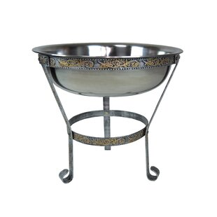 Superieur Outdoor Ice Bucket With Stand | Wayfair