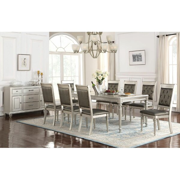 Gentil 9 Piece White Dining Set Room Ideas