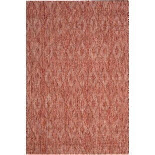 Colon Hand Tufted Red Indoor/Outdoor Rug Image