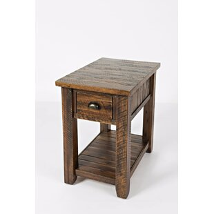 Jalynn End Table with Storage by Mistana